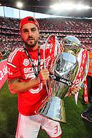 Jardel Vieira avec le trophee - 23.05.2015 - Benfica / Maritimo - Liga Sagres <br /> Photo : Carlos Rodriguez / Icon Sport
