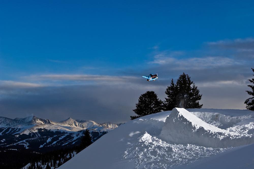 Matto Smith shot for Snowboard Colorado Magazine in Vail, Colorado.