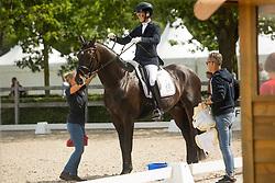 Van Lierop Robin, NED, Zum Glock RS2 Old<br /> Ermelo - Weltmeisterschaft Junge Dressurpferde 2019<br /> Finale für 6 jährige Dressurpferde<br /> Final for 6 years dressage horses<br /> 04. August 2019<br /> © www.sportfotos-lafrentz.de/Dirk Caremans