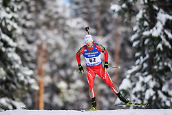 March 9, 2019 - –Stersund, Sweden - 190309 Krasimir Anev of Bulgaria competes in the Men's 10 KM sprint during the IBU World Championships Biathlon on March 9, 2019 in Östersund..Photo: Petter Arvidson / BILDBYRÃ…N / kod PA / 92252 (Credit Image: © Petter Arvidson/Bildbyran via ZUMA Press)