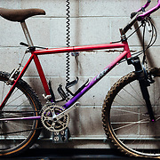 A history of Ibis bicycles from their meager hippie beginnings in 1982. Mountain Trials bike - 24 inch rear and 26 inch front.
