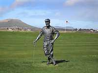 Waterville Golf Links; Beeld van de in 1999 verongelukte Payne Stewart.