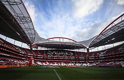 February 17, 2018 - Lisbon, Portugal - General view of Luz Stadium during the Portuguese League  football match between SL Benfica and Boavista FC at Luz  Stadium in Lisbon on February 17, 2018. (Credit Image: © Carlos Costa/NurPhoto via ZUMA Press)