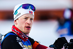 March 9, 2019 - –Stersund, Sweden - 190309 Tarjei Bø of Norway ahead of the Men's 10 KM sprint during the IBU World Championships Biathlon on March 9, 2019 in Östersund..Photo: Johan Axelsson / BILDBYRÃ…N / Cop 245 (Credit Image: © Johan Axelsson/Bildbyran via ZUMA Press)