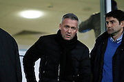 Wolves manager Paul Lambert in attendence during the EFL Sky Bet Championship match between Burton Albion and Fulham at the Pirelli Stadium, Burton upon Trent, England on 1st February 2017. Photo by Richard Holmes.