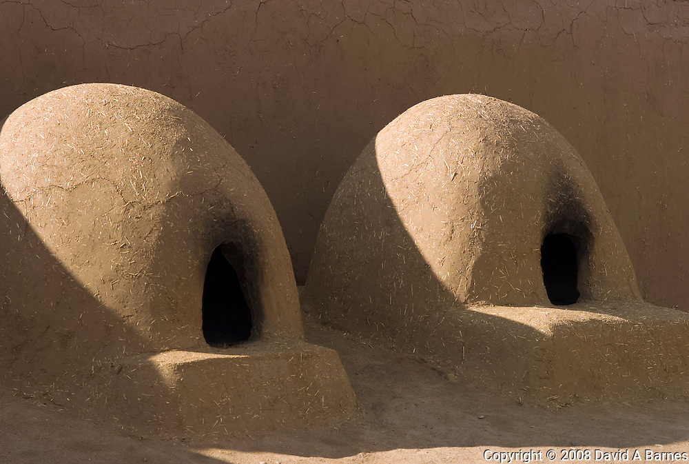 Bread ovens, Taos Peublo, New Mexico, USA