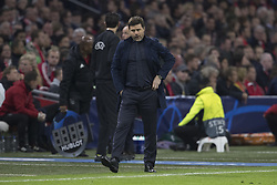 Tottenham's coach Mauricio Pochettino during 1/2 final return game of the Champion's League, Ajax vs Tottenham in Amsterdam ArenA, Amsterdam, Netherlands, on May 8th, 2019. Tottenham won 3-2. Photo by Henri Szwarc/ABACAPRESS.COM