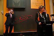 Cecile Bonneford and Gordon Brown, Veuve Cliquot Award.- Business Woman of the Year. claridge's. London. 27 April 2006. ONE TIME USE ONLY - DO NOT ARCHIVE  © Copyright Photograph by Dafydd Jones 66 Stockwell Park Rd. London SW9 0DA Tel 020 7733 0108 www.dafjones.com