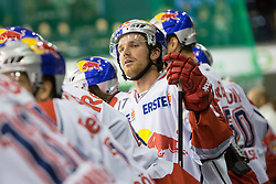 02.11.2012, Hala Tivoli, Ljubljana, SLO, EBEL, HDD Telemach Olimpija Ljubljana vs EC Red Bull Salzburg, 18. Runde, in picture David Clarkson (EC Red Bull Salzburg, #17) during the Erste Bank Icehockey League 18th Round match between HDD Telemach Olimpija Ljubljana and EC Red Bull Salzburg at the Hala Tivoli, Ljubljana, Slovenia on 2012/11/02. (Photo By Matic Klansek Velej / Sportida)