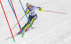 44# Kolega Samuel from Croatia during the slalom of National Championship of Slovenia 2019, on March 24, 2019, on Krvavec, Slovenia. Photo by Urban Meglic / Sportida