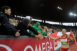 30.08.2012, Stadion Letzigrund, Zuerich, SUI, Leichtathletik, Weltklasse Zurich 2012, im Bild Selina Buechel (SUI), 800m Frauen // during Athletics World Class Zurich 2012 at Letzigrund Stadium, Zurich, Switzerland on 2012/08/30. EXPA Pictures © 2012, PhotoCredit: EXPA/ Freshfocus/ Valeriano Di Domenico..***** ATTENTION - for AUT, SLO, CRO, SRB, BIH  only *****