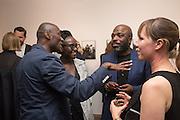 ECKOW EKSHUN; LYNETTE YIADOM-BOAKYE;; DURO OROWY; JENNY BERGLUND Preview of DANDYISM Photographers Gallery, Ramillies Place, Thursday 14 July 2016,