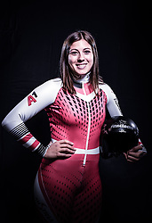 12.10.2019, Olympiahalle, Innsbruck, AUT, FIS Weltcup Ski Alpin, im Bild Marie Therese Sporer // during Outfitting of the Ski Austria Winter Collection and the official Austrian Ski Federation 2019/ 2020 Portrait Session at the Olympiahalle in Innsbruck, Austria on 2019/10/12. EXPA Pictures © 2020, PhotoCredit: EXPA/ JFK