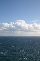 View of the Atlantic sea