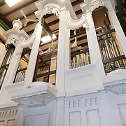 Pipe organ under construction at C.B. Fisk, Gloucester,  MA