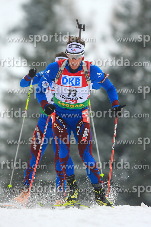 Vincent Jay (FRA) at Men 20 km Individual at E.ON Ruhrgas IBU World Cup Biathlon in Hochfilzen (replacement Pokljuka), on December 18, 2008, in Hochfilzen, Austria. (Photo by Vid Ponikvar / Sportida)