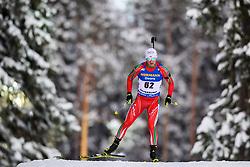 March 9, 2019 - –Stersund, Sweden - 190309 Krasimir Anev of Bulgaria competes in the Men's 10 KM sprint during the IBU World Championships Biathlon on March 9, 2019 in Östersund..Photo: Petter Arvidson / BILDBYRÃ…N / kod PA / 92252 (Credit Image: © Petter Arvidson/Bildbyran via ZUMA Press)