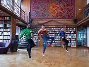 FranceDance UK launch event – a festival bringing top French contemporary dance to nine cities across the UK<br /> At Institut français, London Great Britain <br /> 10th July 2019 <br /> <br /> To mark the launch of FranceDance UK, French dance collective (La) Horde, best known for their collaboration with electro-pop sensation Chris (formerly known as Christine and the Queens) perform at the Institut français. <br /> <br /> LaHorde:<br /> Mathieu Douay, aka Magii'x, <br /> Kevin Martinelli aka MrCovin,<br /> Edgar Scassa aka Edx<br /> <br /> Accompanied by choreographer LaHorde Marine Brutti <br /> <br /> <br /> <br /> Photograph by Elliott Franks