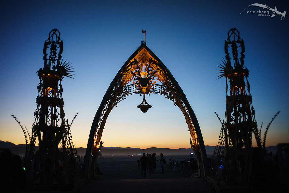 The Temple of Grace, Burning Man 2014.