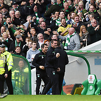 31/10/15 LADBROKES PREMIERSHIP<br /> CELTIC v ABERDEEN<br /> CELTIC PARK - GLASGOW<br /> Celtic manager Ronny Deila after his side's take a three-goal lead