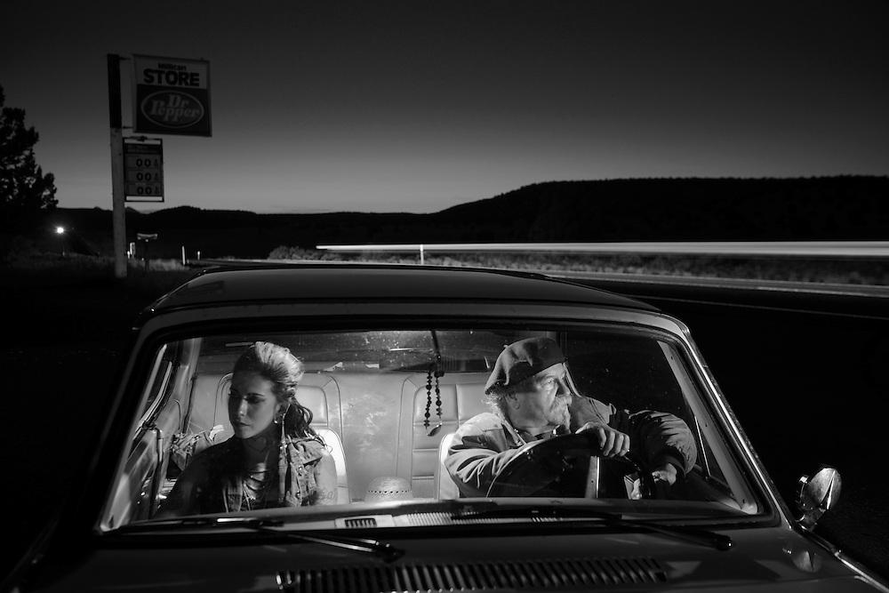 American Dreamscapes / Desolation Road<br /> <br /> Millican, Oregon, USA