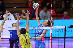 28-04-2016 ITA: Nordmeccanica Piacenza - Imoco Volley Conegliano, Piacenza<br /> Final play-offs / Floortje Meijners<br /> <br /> ***NETHERLANDS ONLY***