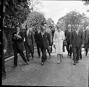 Royal Visit to Ireland by Princess Grace and Prince Rainier of Monaco. Visiting the National Stud at Tully, Co Kildare..11.06.1961
