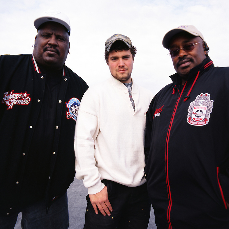 ANCHORAGE, ALASKA - 2009: Levi Johnston with Lawyer Rex Butler and publicist Tank Jones for The Guardian.