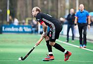 BLOEMENDAAL -  Billy Bakker (A'dam)  . Hockey hoofdklasse heren, Bloemendaal-Amsterdam (2-0) . COPYRIGHT KOEN SUYK