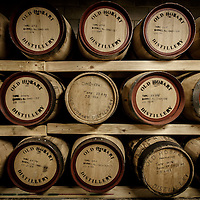 Barrels of Overeem whisky sit in barrels at Old Hobart Distillery in Hobart, Tasmania, August 25, 2015. Gary He/DRAMBOX MEDIA LIBRARY