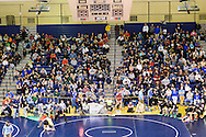 NEWTOWN, PA. - JANUARY 17: Wrestling tournament at Council Rock South High School January 17, 2015 in Newtown, Pennsylvania.(Photo by William Thomas Cain/Cain Images)