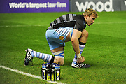 Jonny Gray readies for battle ahead of the 1872 Challenge Cup, Guinness Pro 14 2018_19 match between Edinburgh Rugby and Glasgow Warriors at BT Murrayfield Stadium, Edinburgh, Scotland on 22 December 2018.