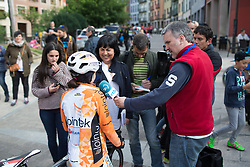 Stage 3 of the Emakumeen Bira - a 77.6 km road race, starting and finishing in Antzuola on May 19, 2017, in Basque Country, Spain. (Photo by Balint Hamvas/Velofocus)
