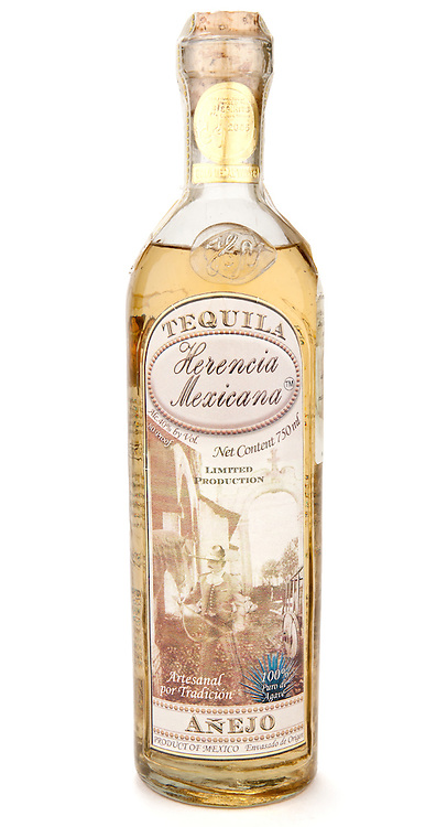 Herencia Mexicana Añejo (NOM 1079) -- Image originally appeared in the Tequila Matchmaker: http://tequilamatchmaker.com