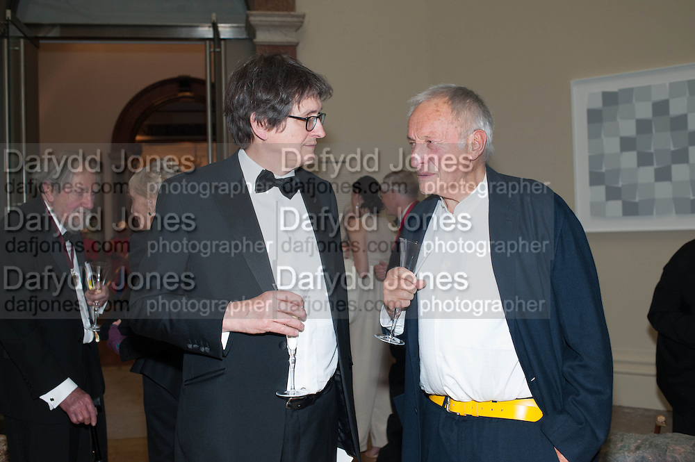ALAN RUSBRIDGER; SIR RICHARD ROGERS, Royal Academy Annual Dinner 2013. Piccadilly. London. 4 June 2013.