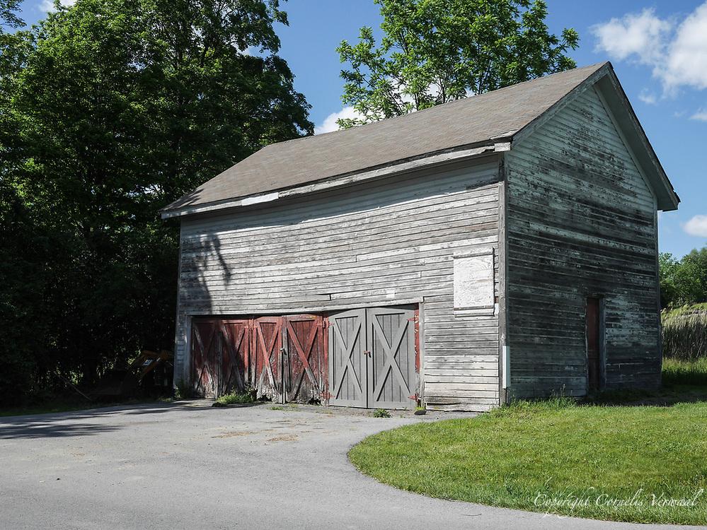 Harmony Farm, Goshen, NY - stone house old barn