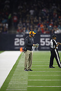 Miami Dolphins associate head coach / special teams coordinator Darren Rizzi in action during the NFL week 8 regular season football game against the Houston Texans on Thursday, Oct. 25, 2018 in Houston. The Texans won the game 42-23. (©Paul Anthony Spinelli)