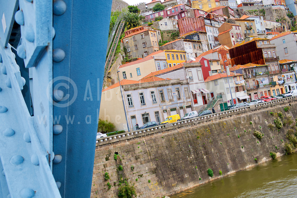 Alberto Carrera, Luis I Bridge, Dom Luís Bridge, Douro River, Old City, World Heritage Site, Oporto, Porto, Portugal, Europe