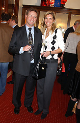 WILLIAM & LUCY ASPREY at a drinks party for the Game Conservancy Trust's committee held at Williams & Son, 10 Mount Street, London WlK hosted by Willaim & Lucy Asprey on 6th December 2005.<br /><br />NON EXCLUSIVE - WORLD RIGHTS