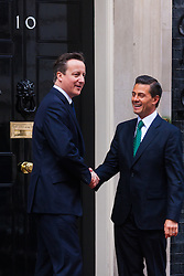 London, March 4th 2015. President Enrique Pena Nieto arrives at 10 Downing Street for a meeting with Prime Minister David Cameron. Nieto is on a State Visit to the United Kingdom.