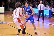 Marco Lagana<br /> Grissin Bon Pallacanestro Reggio Emilia - Germani Basket Leonessa Brescia<br /> Lega Basket Serie A 2016/2017<br /> Reggio Emilia, 27/03/2017<br /> Foto M.Ceretti / Ciamillo - Castoria