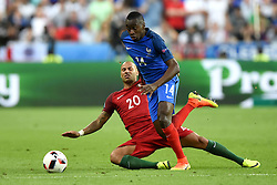 Blaise Matuidi of France battles for the ball with Ricardo Quaresma of Portugal  - Mandatory by-line: Joe Meredith/JMP - 10/07/2016 - FOOTBALL - Stade de France - Saint-Denis, France - Portugal v France - UEFA European Championship Final