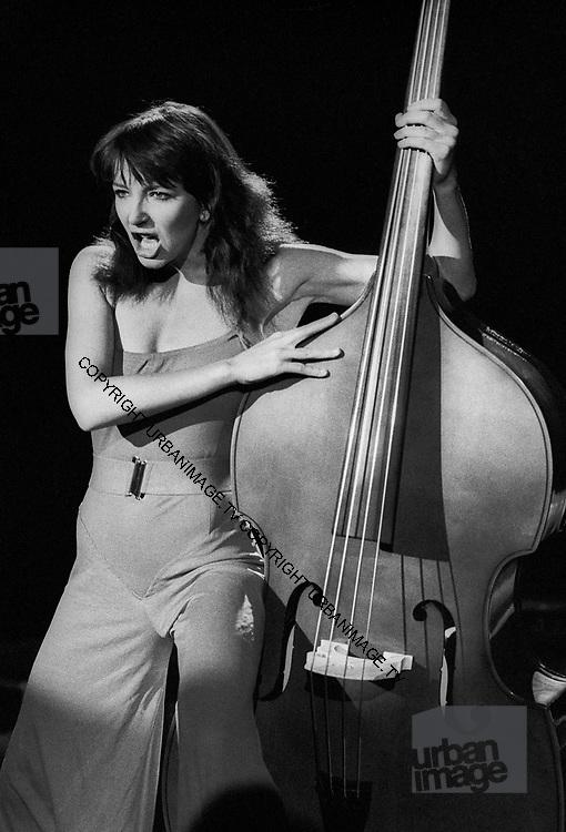 Kate Bush during 1980 video shoot