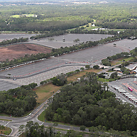 ORLANDO, FL - MARCH 23:  Walt Disney World parking lots remain closed to the public due to the Coronavirus threat on March 23, 2020 in Orlando, Florida. The United States has surpassed 43,000 confirmed cases of the Coronavirus (COVID-19) and the death toll climbed to at least 514. (Photo by Alex Menendez/Getty Images)