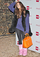 LONDON - December 10: Binky Felstead at the Very.co.uk - Catwalk Event (Photo by Brett D. Cove)