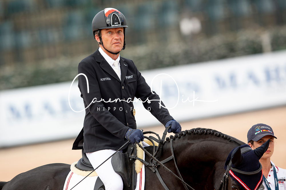 Puch Pepo, AUT, Sailor's Blue<br /> World Equestrian Games - Tryon 2018<br /> © Hippo Foto - Sharon Vandeput<br /> 18/09/2018