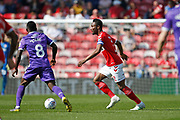 Middlesbrough midfielder Mikel John Obi (2)  during the EFL Sky Bet Championship match between Middlesbrough and Stoke City at the Riverside Stadium, Middlesbrough, England on 19 April 2019.