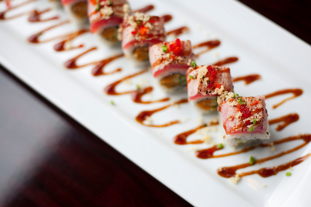 Oh Fusion sushi located in Muncie, IN. Sushi Chef Danny Oh.