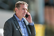 Promotion calling? Phil Parkinson (Manager) (Bolton Wanderers) before the EFL Sky Bet League 1 match between Port Vale and Bolton Wanderers at Vale Park, Burslem, England on 22 April 2017. Photo by Mark P Doherty.