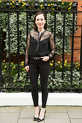 Laura Main during London Fashion Week Autumn/Winter 2017 in London.  Picture date: Saturday 18th February 2017. Photo credit should read: DavidJensen/EMPICS Entertainment